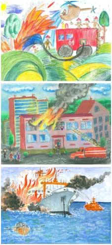 конкурс детских рисунков в 2011 году